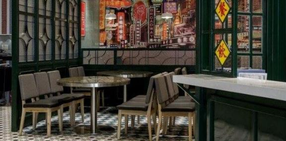淞南茶餐厅装修